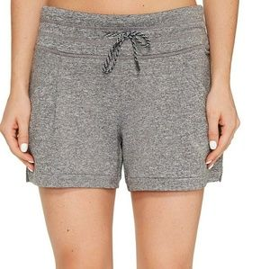 NWT Lucy Full Potential Shorts Heather Gray Size S